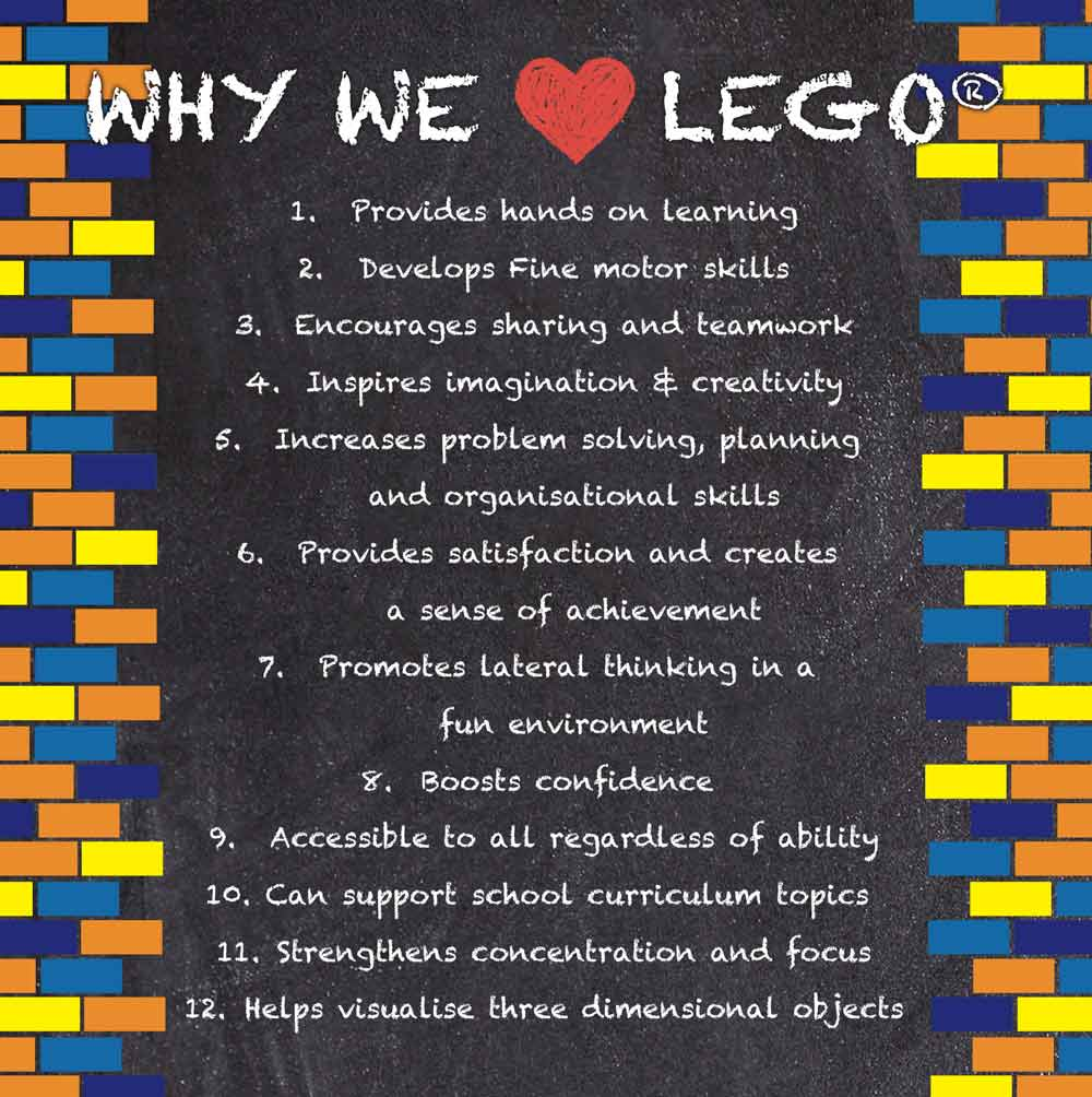 Photo why Master Builders Club loves lego
