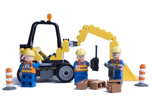 Photo of Lego Construction Builders