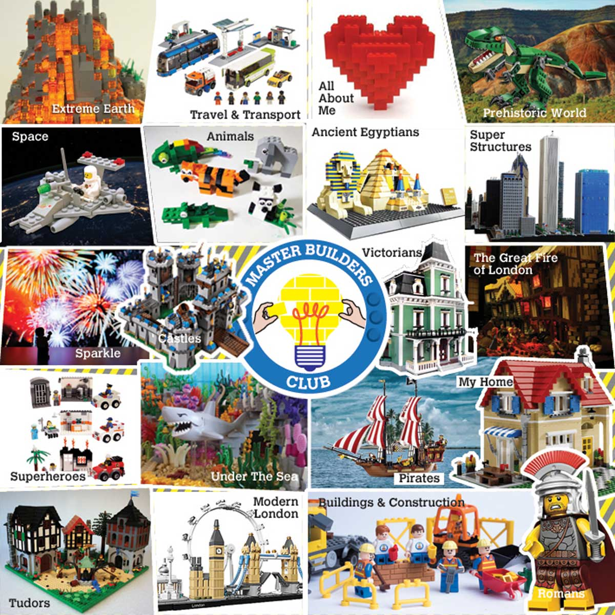 Master Builders club some ideas for models